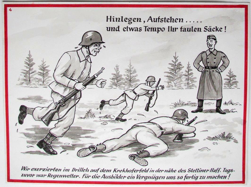 Souvenir illustré d'incorporation n°4 (recopié), par Louis Klauth (titre factice)_0