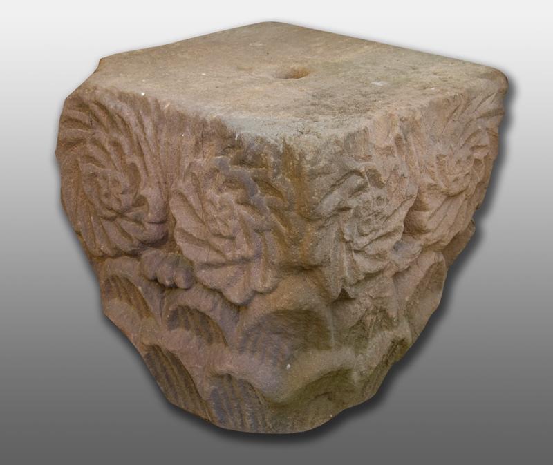 chapiteau : chapiteau à décor de rouelles (titre factice)