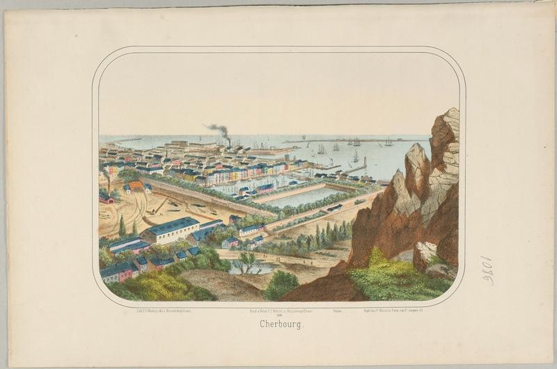 Cherbourg. (titre inscrit, français)_0