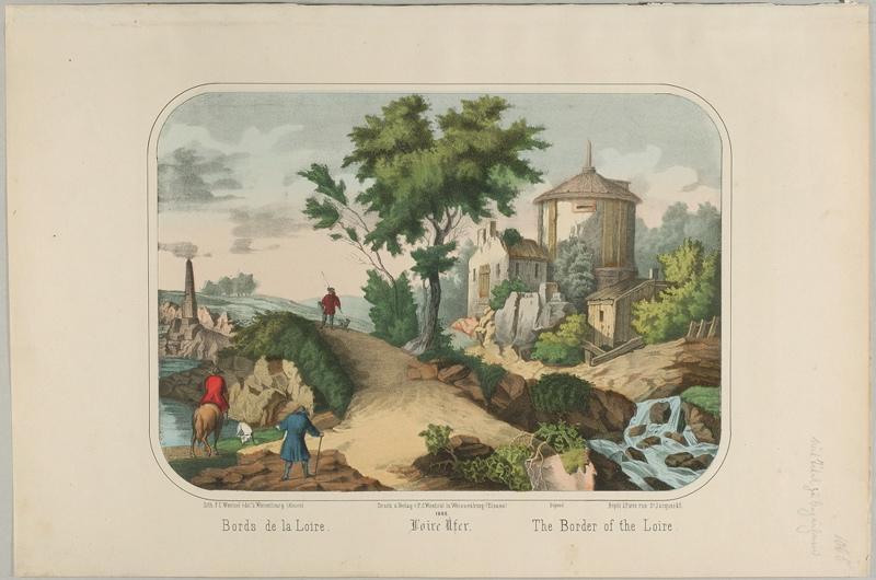Bords de la Loire. (titre inscrit, français, allemand, anglais)_0