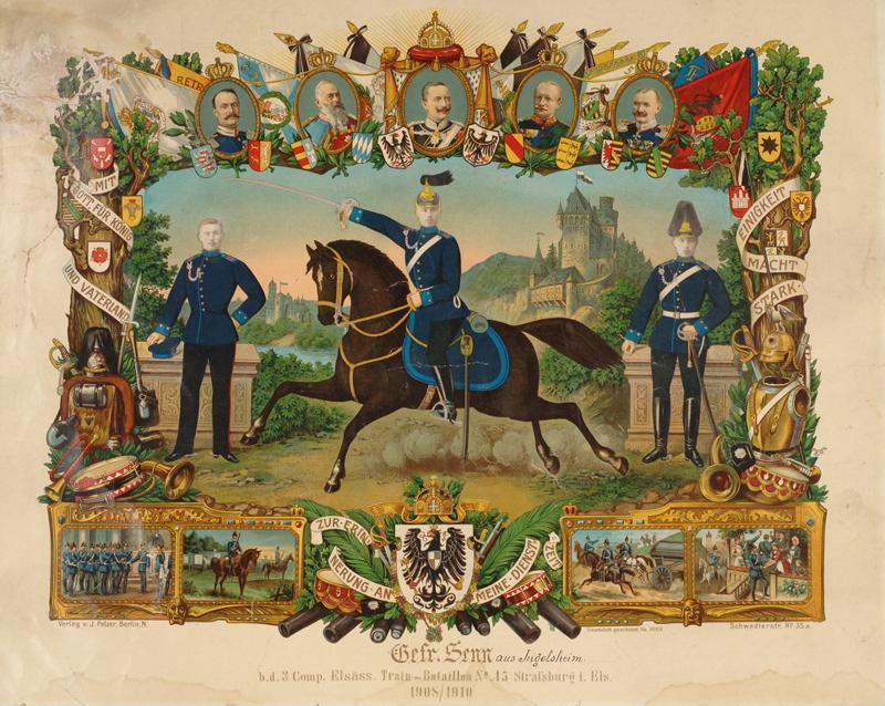 Souvenir de régiment du brigadier Senn (titre factice)_0