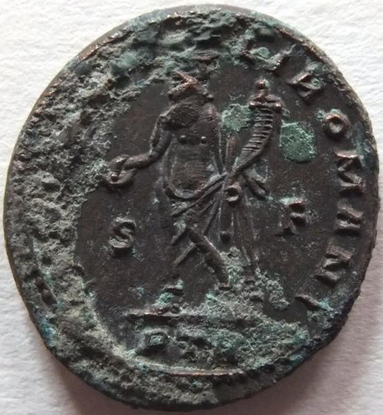 ATELIER DE TREVES (atelier) : pièce de monnaie, follis