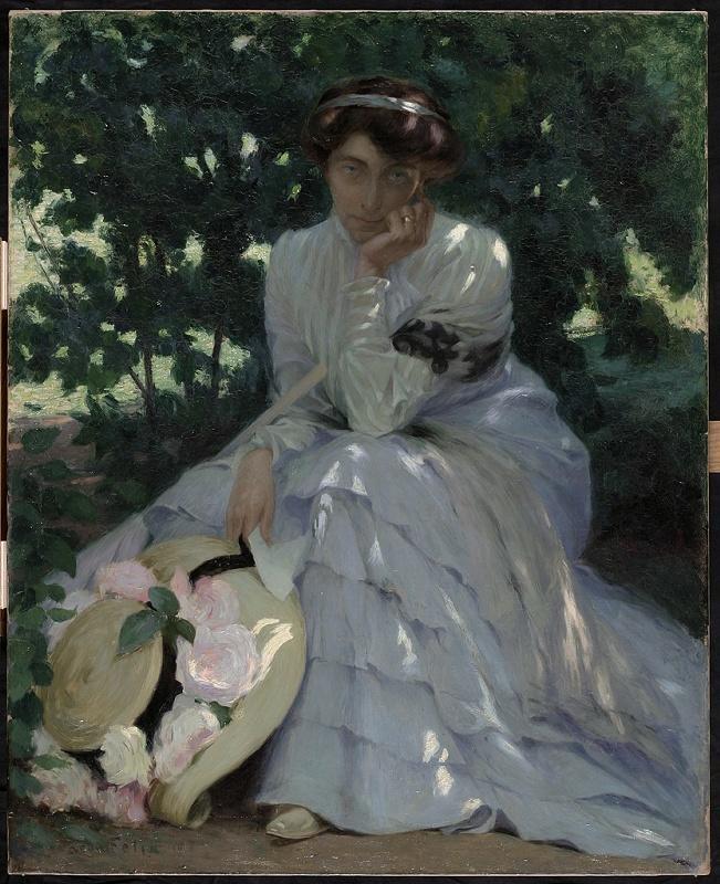 FELIX Léon Pierre (peintre) : Mélancolie