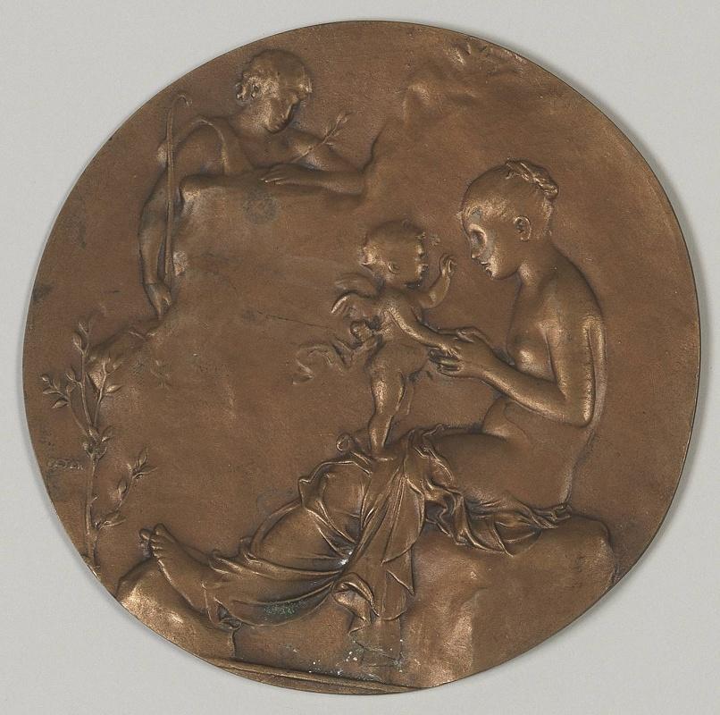 PETER Victor (sculpteur) : Idylle