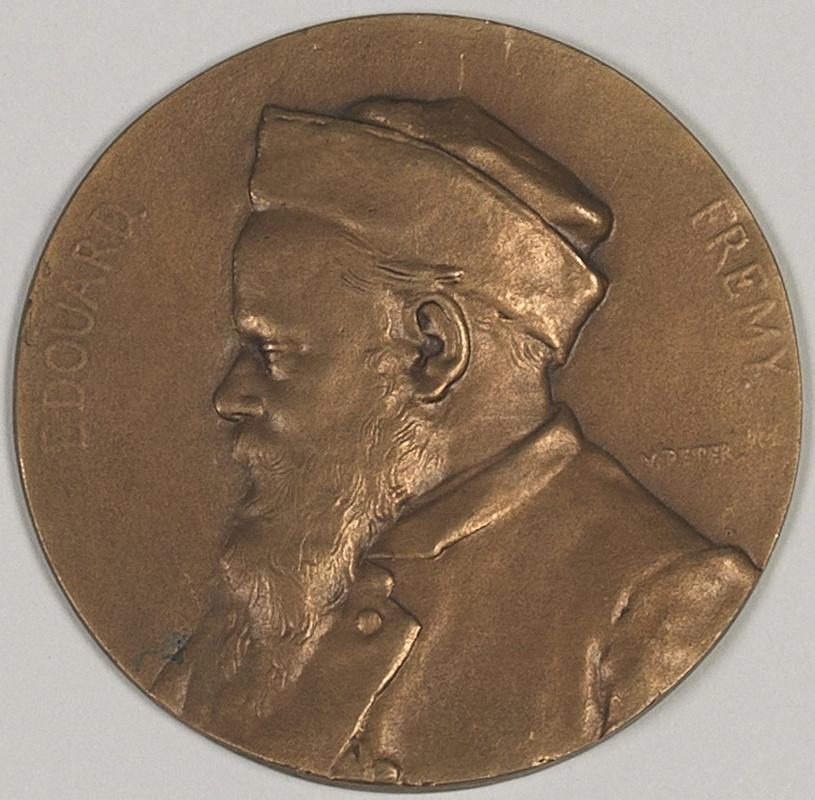 PETER Victor (sculpteur) : Portrait d'Edouard Frémy