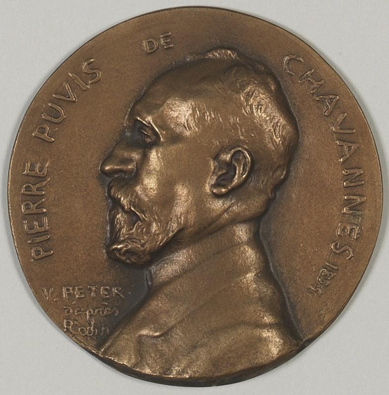 PETER Victor (sculpteur) : Pierre Puvis de Chavannes