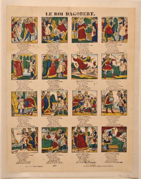 PELLERIN (imprimeur, éditeur) : Le Roi Dagobert
