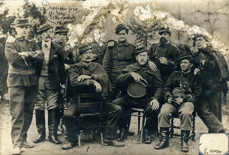 Groupe de Chasseurs du Mont-Blanc / Francs-tireurs de la Hte-Savoie (titre manuscrit)_0