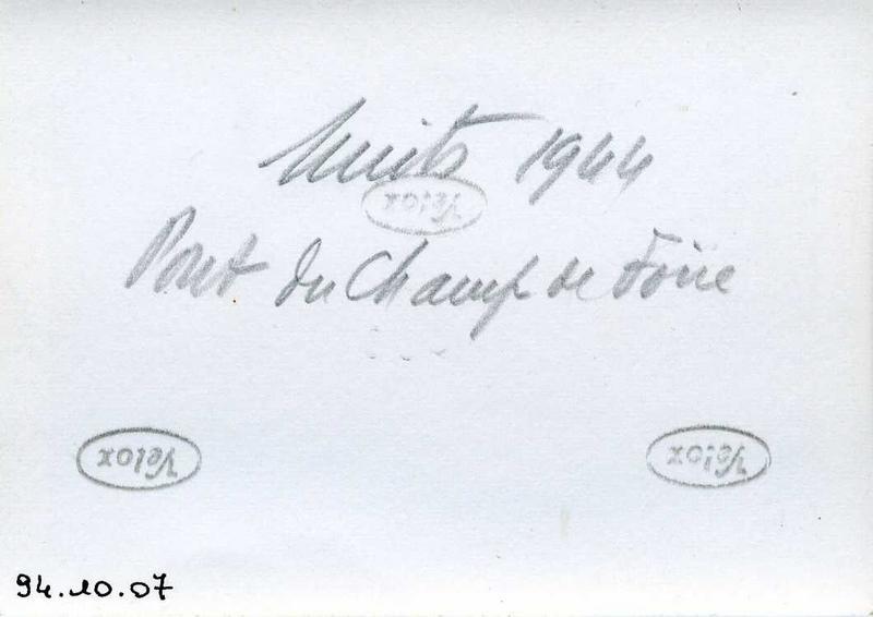 Nuits 1944 / Pont du Champ de Foire (titre inscrit)