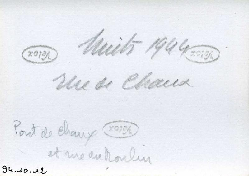 Nuits 1944 / rue de Chaux / Pont de Chaux / et rue du Moulin (titre inscrit)_0