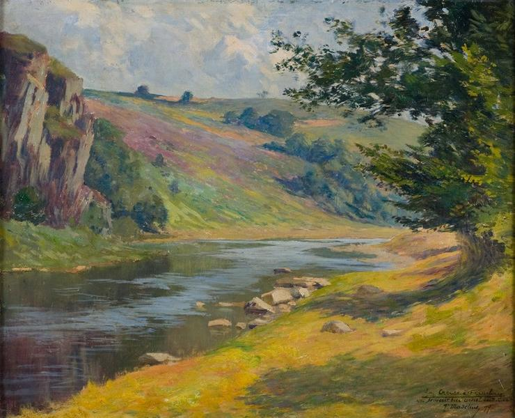 MADELINE Paul (peintre) : Bords de la Creuse