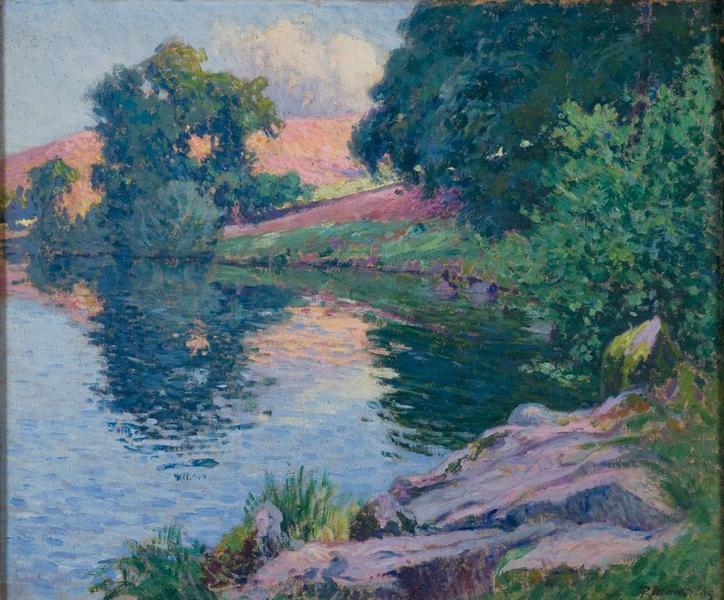 MADELINE Paul (peintre) : Paysage