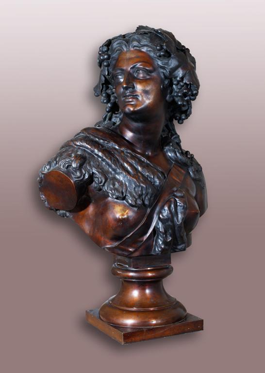 CLESINGER Auguste (dit), CLESINGER Jean-Baptiste (sculpteur), MARNYHAC & Cie (fondeur) : Bacchante (titre factice)