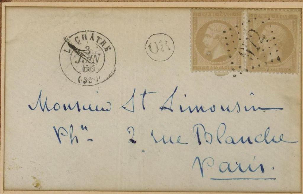 SAND George (dite), DUPIN DE FRANCUEIL Amantine Aurore Lucile (née) : Lettre autographe signée de George Sand à Stanislas LIMOUSIN