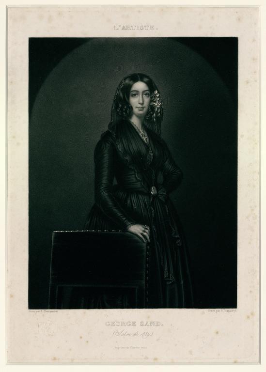 George Sand. (Salon de 1839)