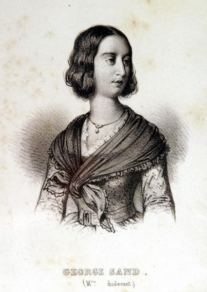 GEORGE Sand. (Mme dudevant)_0