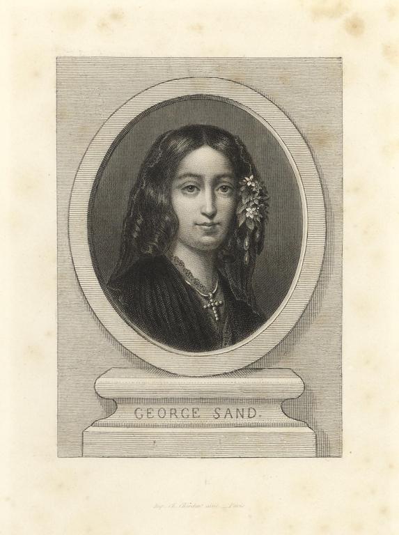 NARGEOT Jean-Denis (graveur), CHARDON Charles l'Aîné (imprimeur) : GEORGE Sand