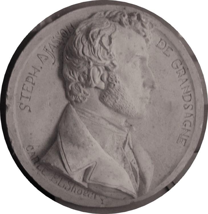 ELSHOECHT Carle (dit), ELSHOECHT Jean-Jacques Marie Carle Vita (sculpteur) : Stéphane Ajasson de Grandsagne