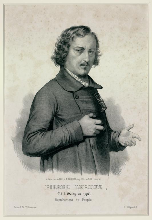 MARIN-LAVIGNE Louis Stanislas (dessinateur, lithographe), CASSE Frères (imprimeur) : LEROUX Pierre