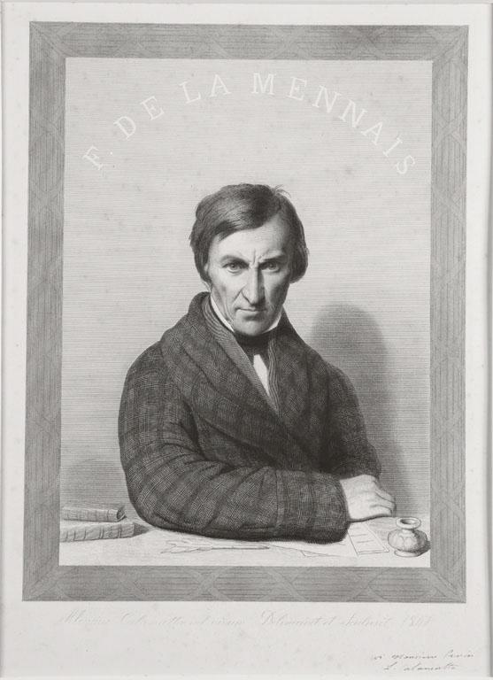 CALAMATTA Luigi (graveur) : F. de LAMENNAIS