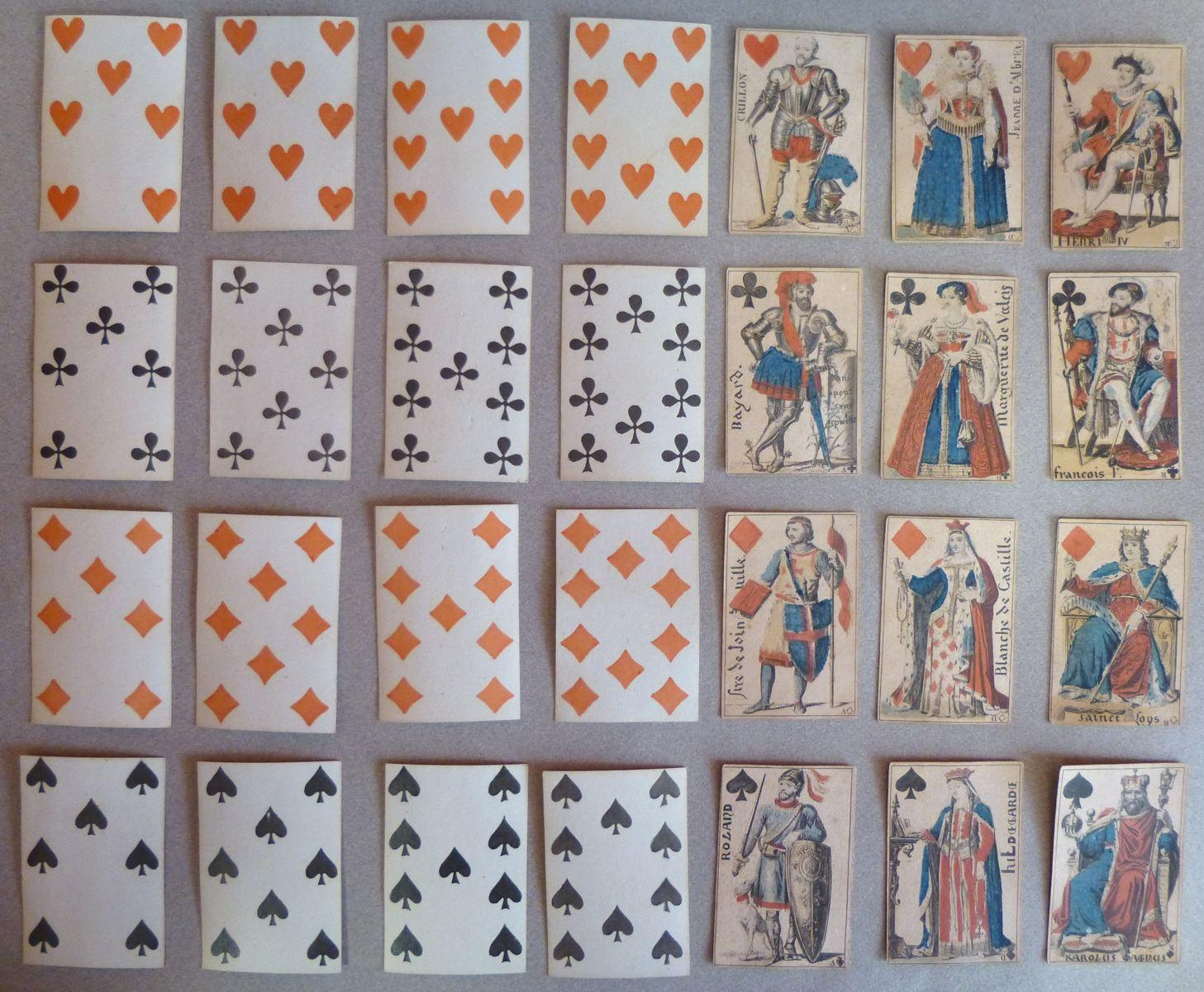 Jeu de cartes des Dames de France_0