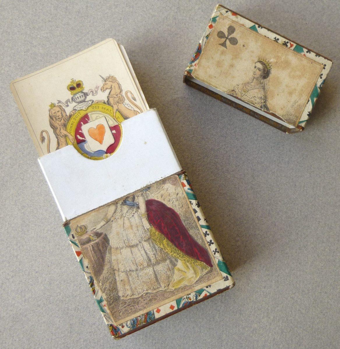 GRIMAUD Baptiste Paul (cartier), CHARDON F l'Aîné (imprimeur) : cartes impériales et royales