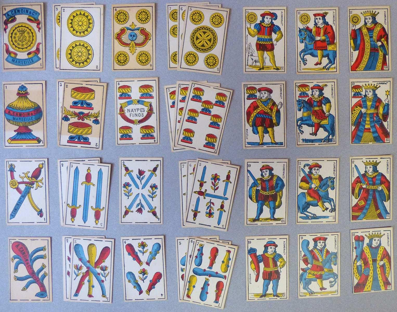 Jeu de cartes au portrait parisien-espagnol_0