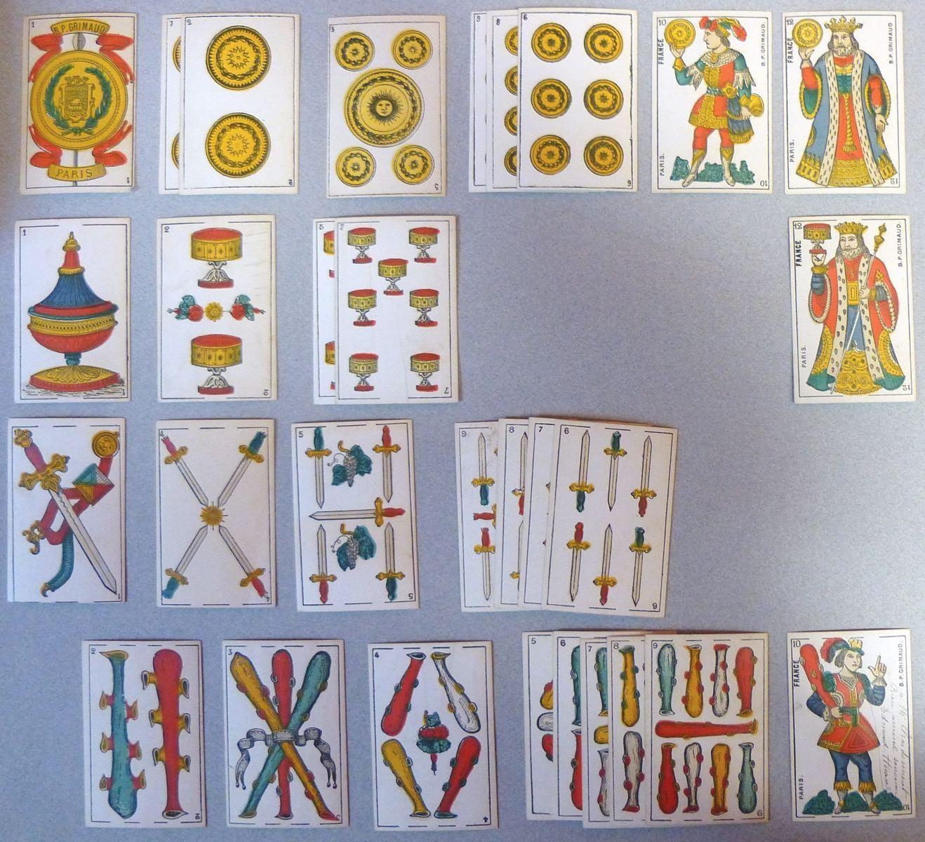 GRIMAUD Baptiste Paul (cartier) : Cartes catalanes