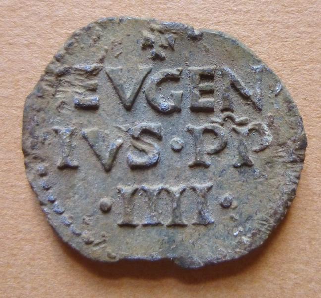 sceau, empreinte : Sceau du pape Eugène IV (titre d'usage)