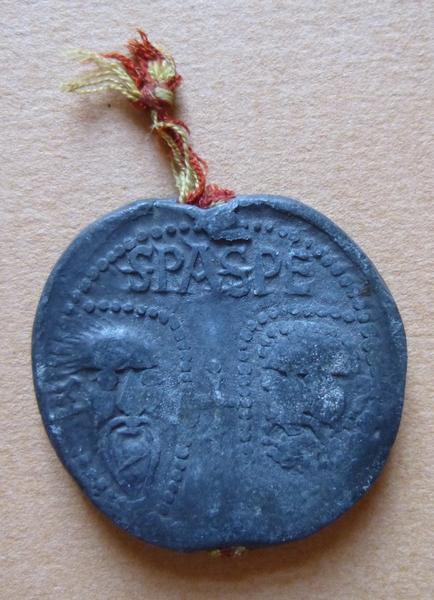 Sceau du pape Grégoire IX (titre d'usage)