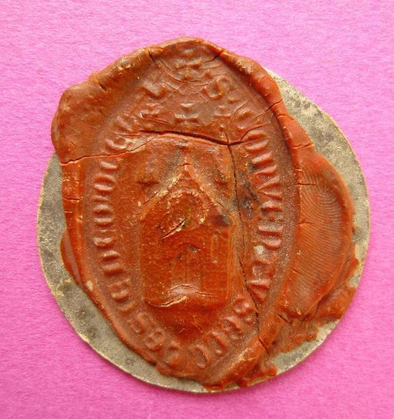 sceau, matrice (factice) : Reproduction d'un sceau religieux (titre d'usage)