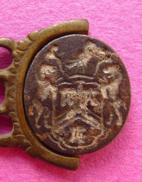 sceau, matrice, cachet, châtelaine (élément), breloque