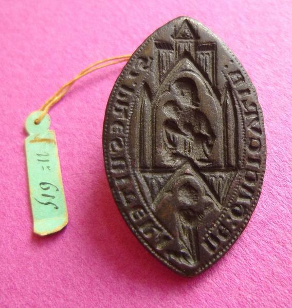 sceau, matrice : Sceau du curé de Gassicourt (titre d'usage)