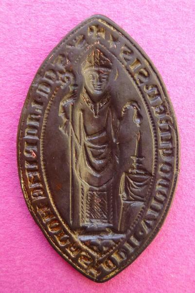 Reproduction d'un sceau de l'abbaye de la Trinité de Vendôme (titre d'usage)_0