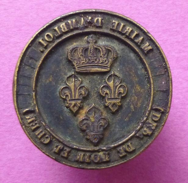 Cachet de la mairie d'Ambloy, Loir-et-Cher (titre d'usage)_0