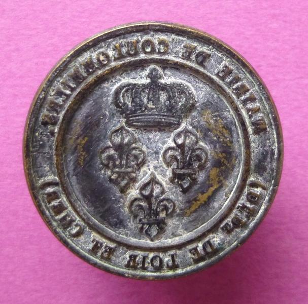 Cachet de la mairie de Coulommiers-la-Tour, Loir-et-Cher (titre d'usage)_0