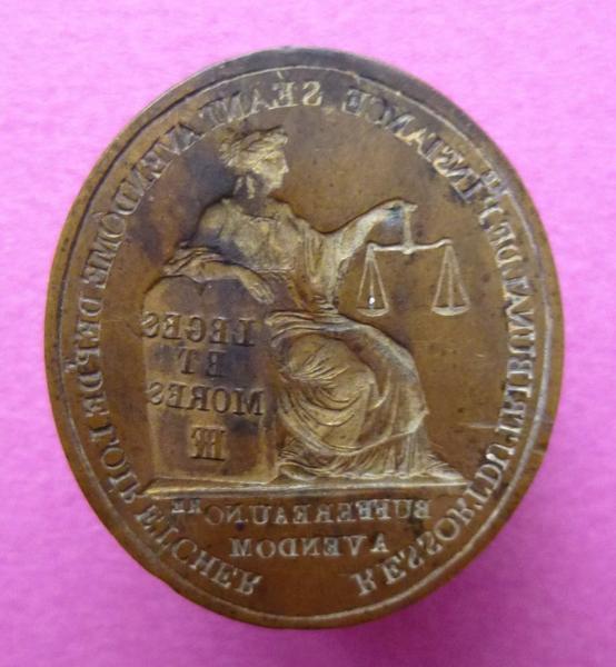 Cachet de Buffereau, notaire à Vendôme (titre d'usage)_0