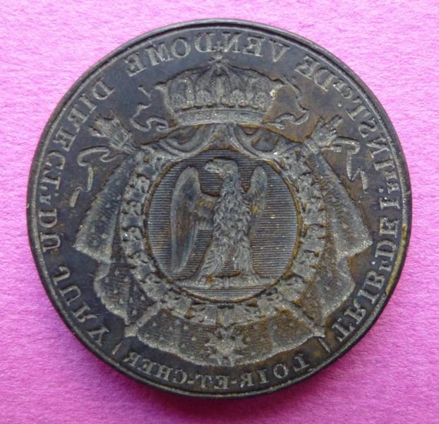 sceau, matrice, cachet : Cachet du directeur du jury du tribunal de première instance de Vendôme (titre d'usage)
