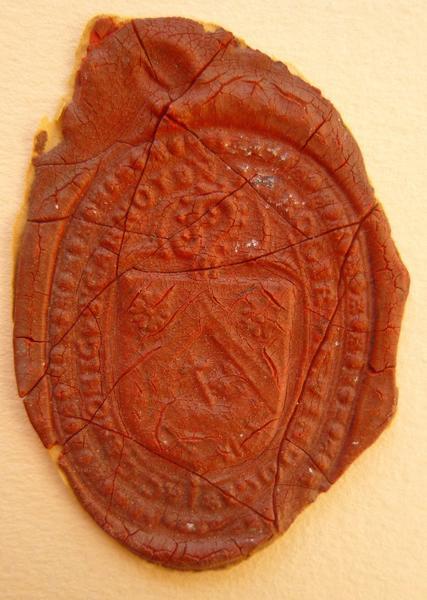 sceau, matrice : Sceau de J. Froger (titre d'usage)