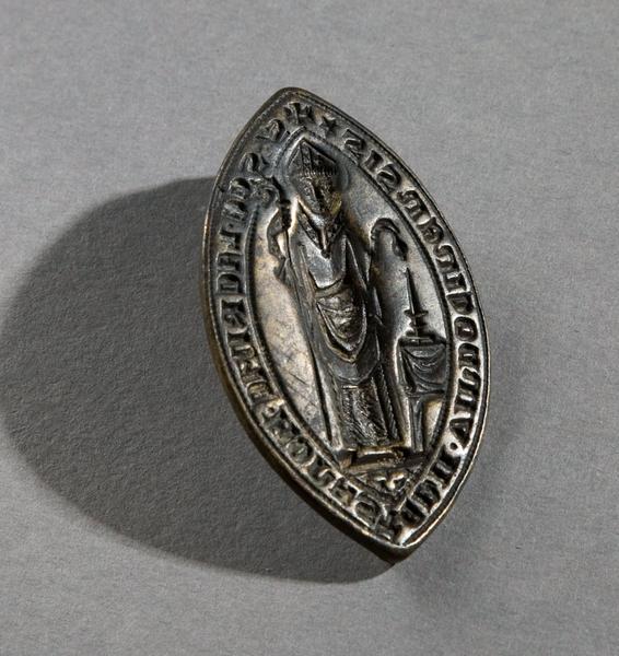 Sceau de l'abbaye de la Trinité de Vendôme (titre d'usage)_0