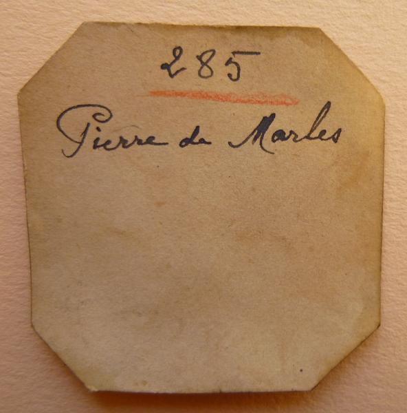 sceau, matrice : Sceau de Pierre de Malles (titre d'usage)