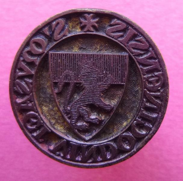 sceau, matrice, cachet : Cachet du musée de Vendôme