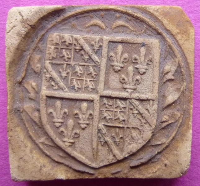 Moulage du sceau armorié de César de Vendôme (titre d'usage)_0