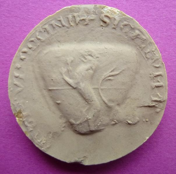 Moulage du sceau armorié de Jean III de Vendôme (titre d'usage)_0