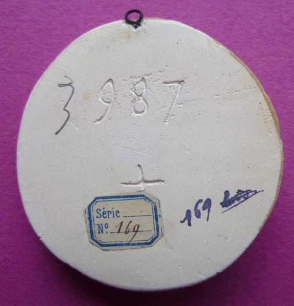 sceau, empreinte : Moulage du sceau armorié de Jean III de Vendôme (titre d'usage)