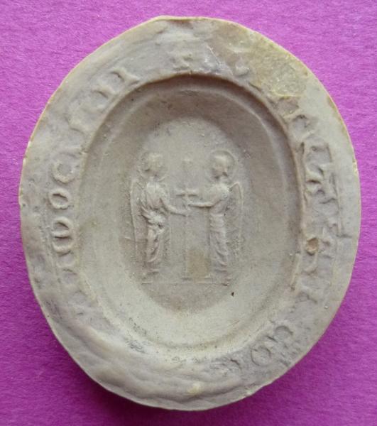 Moulage du contre-sceau de Jean III de Vendôme (titre d'usage)_0