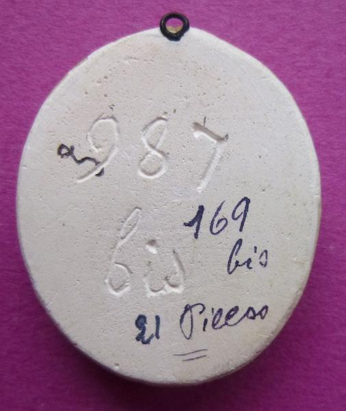 sceau, empreinte : Moulage du contre-sceau de Jean III de Vendôme (titre d'usage)