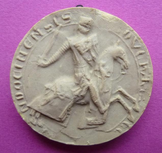 Moulage du sceau équestre de Bouchard V, comte de Vendôme (titre d'usage)_0