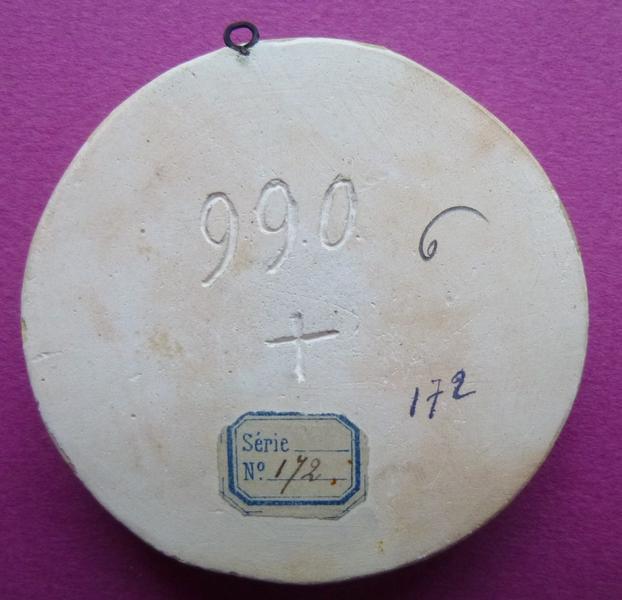 sceau, empreinte : Moulage du sceau équestre de Bouchard V, comte de Vendôme (titre d'usage)