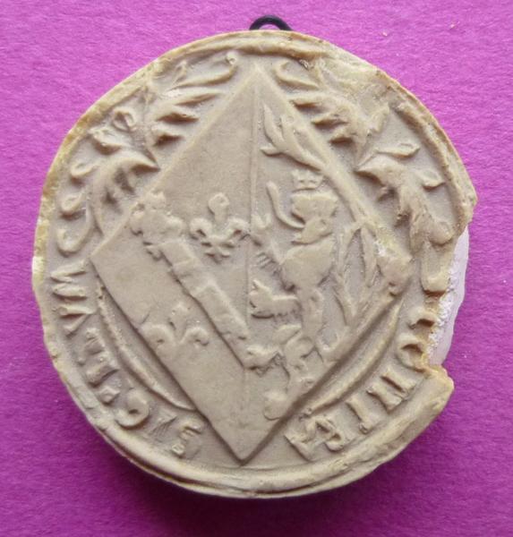 Moulage du contre-sceau armorié de Marie de Luxembourg (titre d'usage)_0